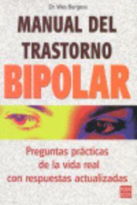 Manual Del Trastorno Bipolar - Wes Burgess
