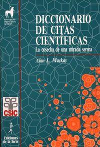 diccionario de citas cientificas - Alan Mackay
