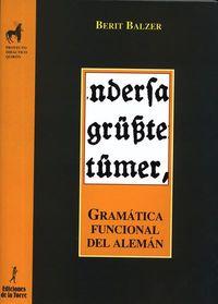 gramatica funcional del aleman - Berit Balzer
