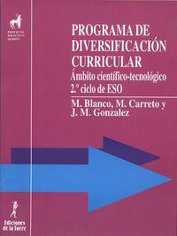 eso - ambito cientifico-tecnologico - programa de diversificacion curricular - M. Blanco / M. Carreto / J. M. Gonzalez Cloute