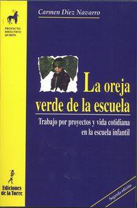 Oreja Verde De La Escuela, La - Trabajo Por Proyectos Y Vida Cotidiana En La Escuela Infantil - Maria Del Carmen Diez Navarro