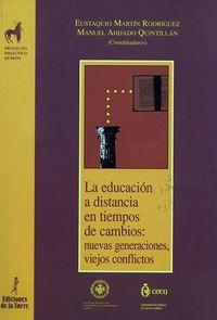 La educacion a distancia - Eustaquio Martin Rodriguez / Manuel Ahijado Quintillan