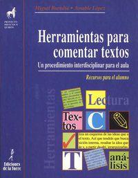 eso - herramientas para comentar textos - Miguel Buendia / Amable Lopez