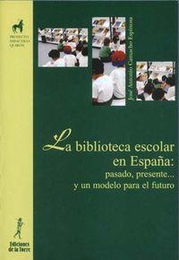 BIBLIOTECA ESCOLAR ESPAÑA