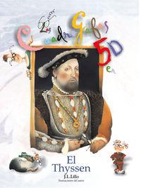 Thyssen, Cuadro Gafas - Jose Luis Lillo
