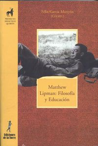 Matthew Lipman - Filosofia Y Educacion - Felix Garcia Moriyon