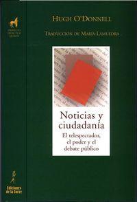 Noticias Y Ciudadania - HUGO O'DONNELL