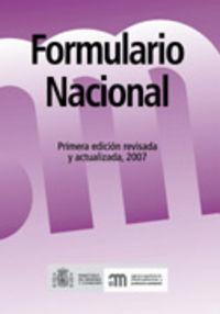 Formulario Nacional 2007 - Aa. Vv.