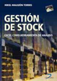 GESTION DE STOCK - EXCEL COMO HERRAMIENTA DE ANALISIS