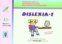 DISLEXIA 1 (+CD)