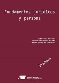 FUNDAMENTOS JURIDICOS Y PERSONA 2021