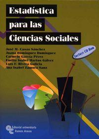ESTADISTICA PARA CIENCIAS SOCIALES