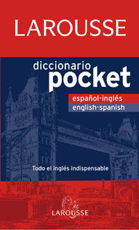 DICCIONARIO POCKET ENGLISH / SPANISH - ESPAÑOL / INGLES