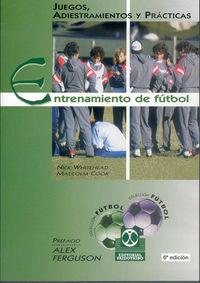 ENTRENAMIENTO DE FUTBOL - JUEGOS, ADIESTRAMIENTOS Y PRACTICAS