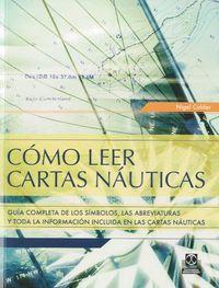 Como Leer Cartas Nauticas - Nigel Calder