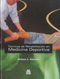 TECNICAS DE REHABILITACION EN MEDICINA DEPORTIVA