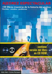 AJEDREZ ESPECTACULAR (+CD)