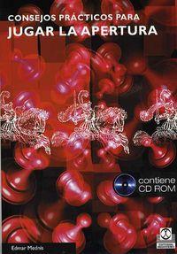 Consejos Practicos Para Jugar La Apertura (+cd) - Edmar Mednis