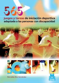 565 JUEGOS Y TAREAS DE INICIACION DEPORTIVA ADAPTADA A LAS PERSONAS CON DISCAPACIDAD