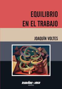 EQUILIBRIO EN EL TRABAJO