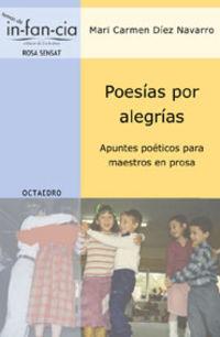 Poesia Por Alegrias - Mª Carmen Diez Navarro