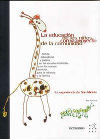 La educacion de los niños como proyecto de la comunidad - Aldo Fortunati
