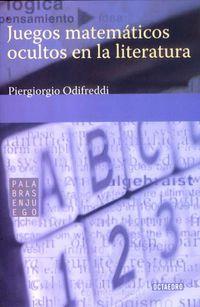 JUEGOS MATEMATICOS EN LA LITERATURA