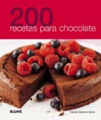 200 Recetas Para Chocolate - Aa. Vv.