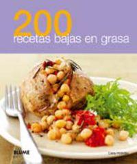 200 Recetas Bajas En Grasa - Aa. Vv.