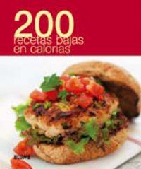 200 Recetas Bajas En Calorias - Aa. Vv.