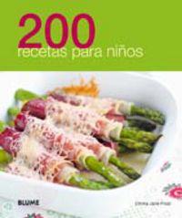 200 Recetas Para Niños - Aa. Vv.