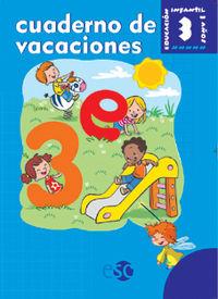 3 AÑOS - CUADERNO DE VACACIONES - BAUL MAGICO