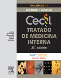 Cecil - Tratado De Medicina Interna (2 Vols. )  (23ª Ed. ) - Lee  Goldman  /  Dennis  Ausiello