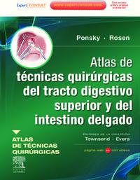 Atlas De Tecnicas Quirurgicas Del Tracto Digestivo Superior Y Del - Jeffrey Ponsky