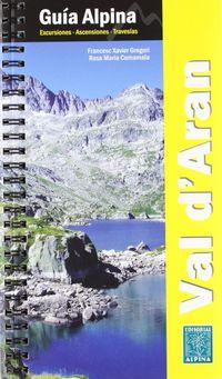 Guia Vall D'aran - Guia Alpina - Aa. Vv.