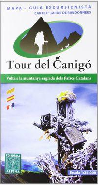 TOUR DEL CANIGO - MAPA 1: 25000