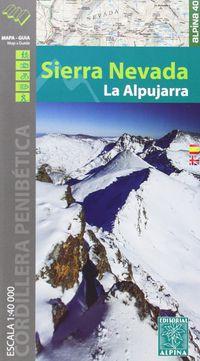 SIERRA NEVADA - LA ALPUJARRA 1: 40000