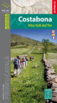 COSTABONA - ALTA VALL DEL TER - MAPA Y GUIA 1: 25000