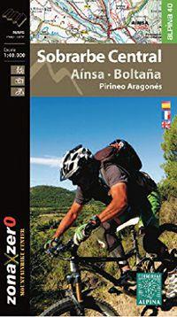 SOBRARBE CENTRAL - AINSA - BOLTAÑA - MAPA EXCURSIONISTA 1: 40000