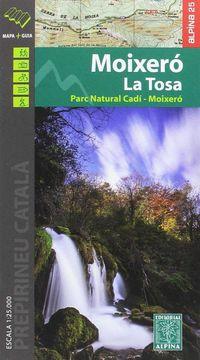 MAPA MOIXERO - LA TOSA 1: 25000