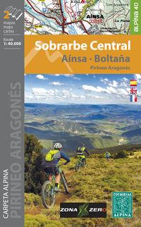 (2 Ed) Sobrarbe Central - Ainsa - Boltaña - Mapa Excursionista 1: 40000 - Aa. Vv.