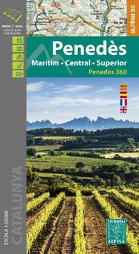 Penedes - Maritim / Central / Superior - Mapa Excursionista 1: 50000 - Aa. Vv.