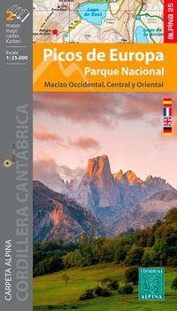 MAPA PICOS DE EUROPA - PARQUE NACIONAL 1: 25000