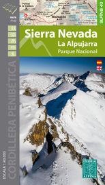 SIERRA NEVADA. LA ALPUJARRA, PARQUE NACIONAL - CARPETA CON 1 MAPA 1: 40000