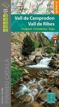 MAPA VALL DE CAMPRODOM, VALL DE RIBES 1: 50000
