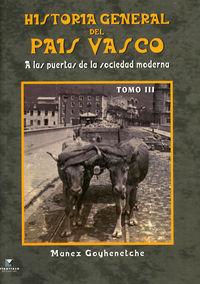 HISTORIA GENERAL DEL PAIS VASCO III