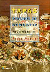 TAPAS - PINCHOS DE DONOSTIA (FRANCES)