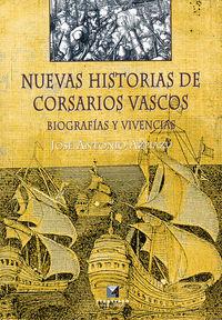 nuevas historias de corsarios vascos - Jose Antonio Azpiazu