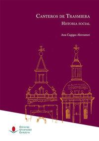 CANTEROS DE TRASMIERA - HISTORIA SOCIAL