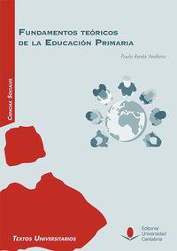 FUNDAMENTOS TEORICOS DE LA EDUCACION PRIMARIA